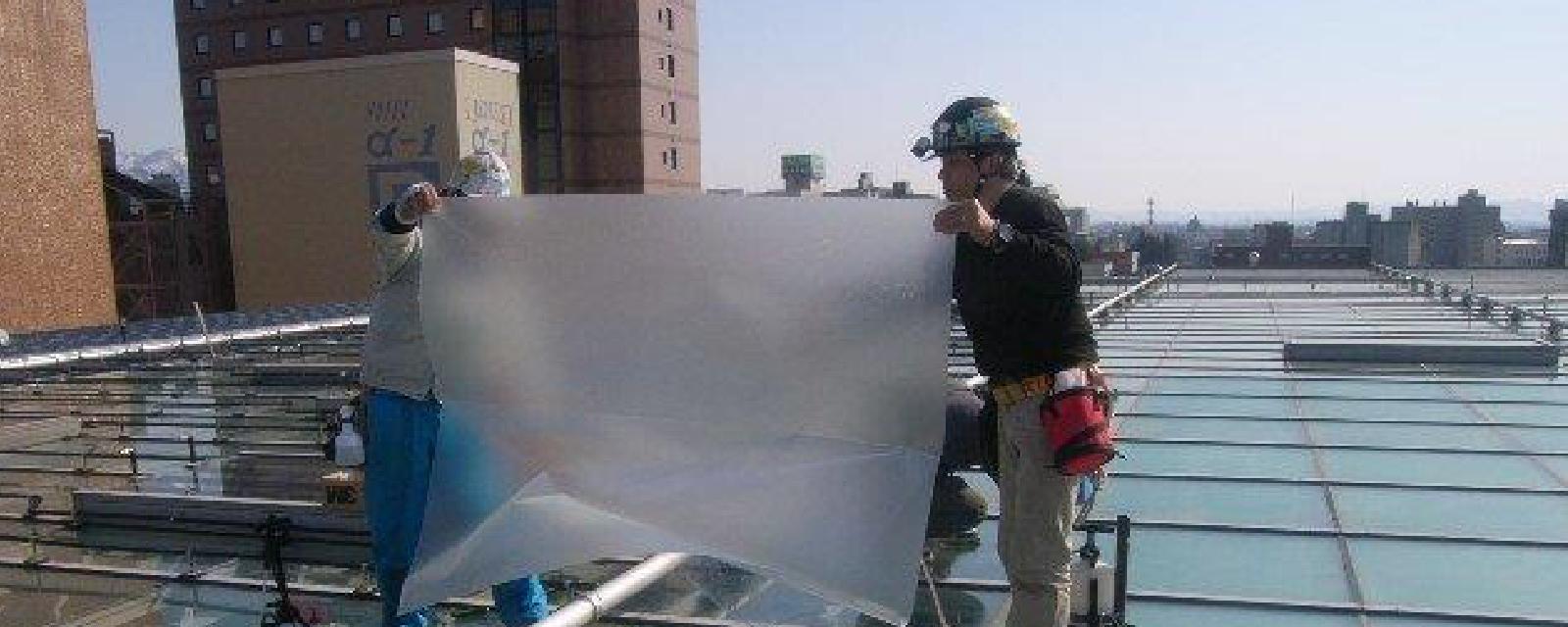 ガラス工事のパイオニア